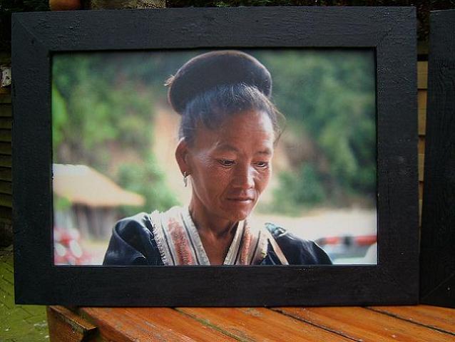 Vrouw uit het noorden van thailand november 1990