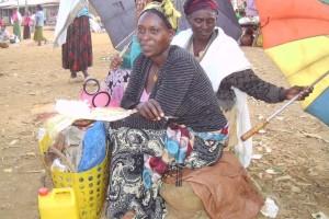 De vrouw van 20 birr in Ethiopie