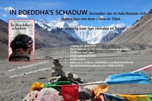 China en Tibet avond in Nijverdal op 10 april 2015