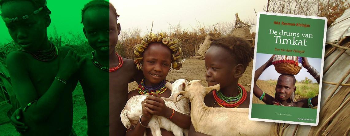 Reisboek: De drums van de Timkat een reis door Ethiopië
