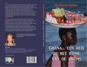 Omslag 2e druk Ghana... een reis op het ritme van de drums