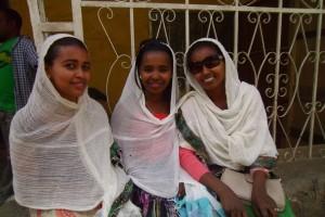 Mooie Ethiopische meiden…