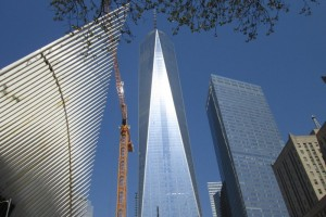 4 mei bij de Twin Towers