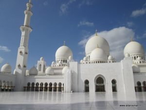 De Grand Mosque in Abu Dhabi