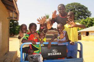 Op blote voeten  naar Senegal