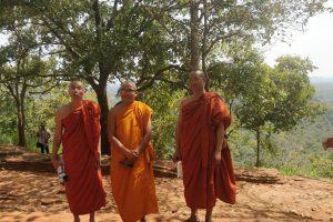 Monniken, kloosters en olifanten