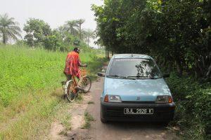 Op vier wielen door de bush van Gambia